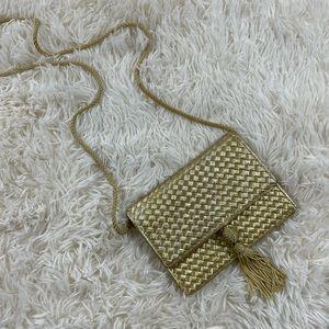 Crossbody Gold with Tassels